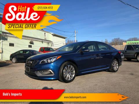 2015 Hyundai Sonata for sale at Bob's Imports in Clinton IL