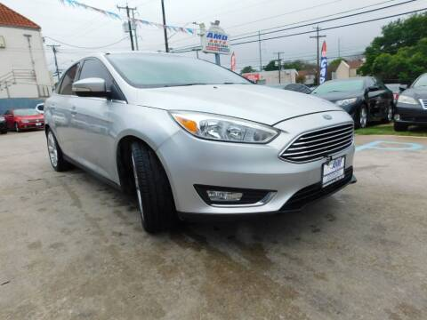 2016 Ford Focus for sale at AMD AUTO in San Antonio TX