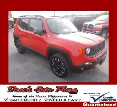 2016 Jeep Renegade for sale at Dean's Auto Plaza in Hanover PA