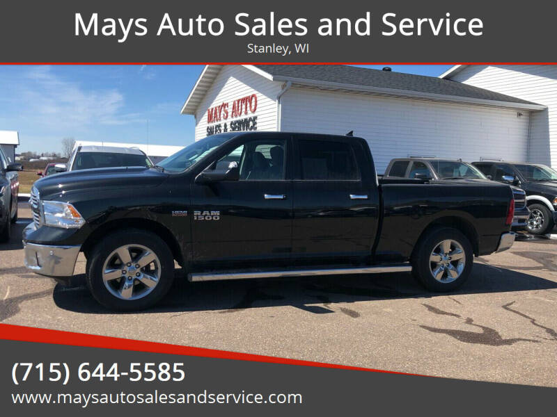 2017 RAM Ram Pickup 1500 for sale at Mays Auto Sales and Service in Stanley WI