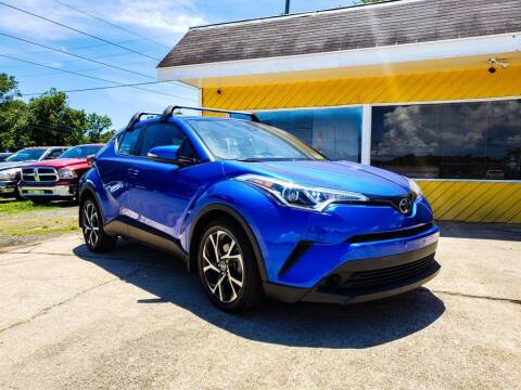 2018 Toyota C-HR for sale at THE COLISEUM MOTORS in Pensacola FL