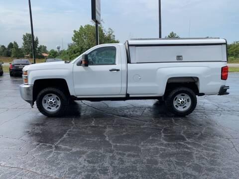 2017 Chevrolet Silverado 2500HD for sale at Hawkins Motors Sales in Hillsdale MI