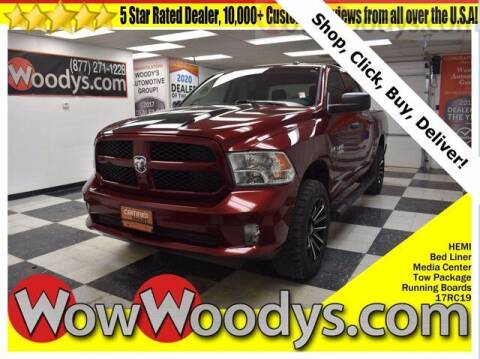 2017 RAM Ram Pickup 1500 for sale at WOODY'S AUTOMOTIVE GROUP in Chillicothe MO