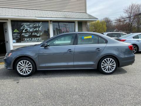 2015 Volkswagen Jetta for sale at Real Deal Auto Sales in Auburn ME