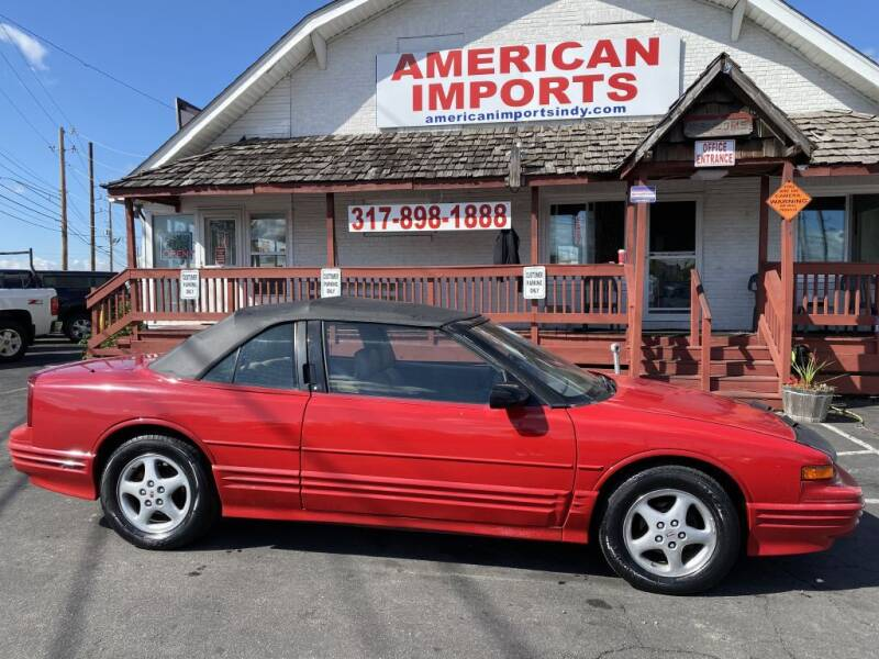 1995 Oldsmobile Cutlass Supreme for sale at American Imports INC in Indianapolis IN
