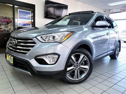 2016 Hyundai Santa Fe for sale at SAINT CHARLES MOTORCARS in Saint Charles IL