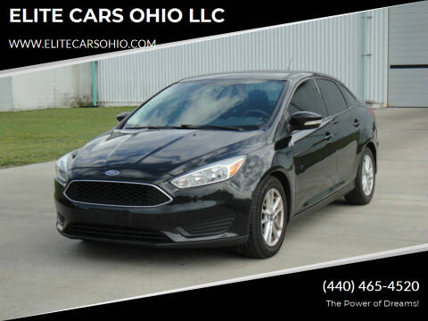 2015 Ford Focus for sale at ELITE CARS OHIO LLC in Solon OH