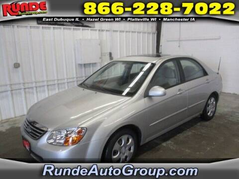 2009 Kia Spectra for sale at Runde Chevrolet in East Dubuque IL