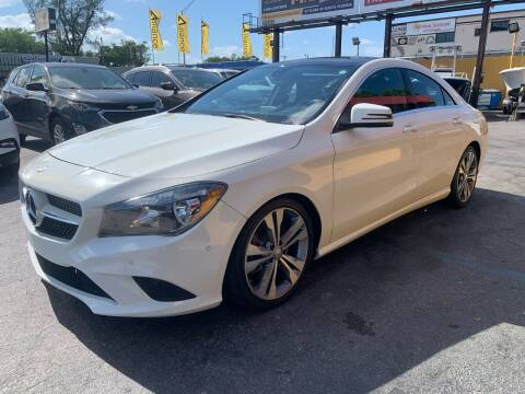 2014 Mercedes-Benz CLA for sale at AUTO ALLIANCE LLC in Miami FL