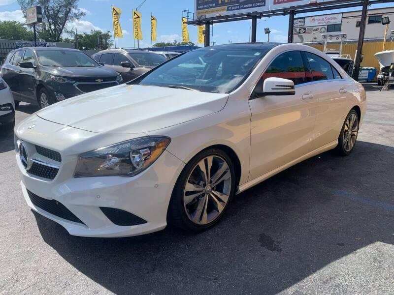 2014 Mercedes-Benz CLA for sale at AUTO ALLIANCE LLC in Miami FL
