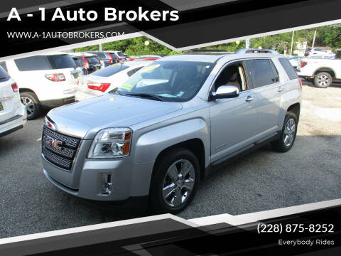 2015 GMC Terrain for sale at A - 1 Auto Brokers in Ocean Springs MS