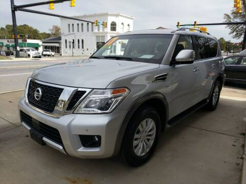 2017 Nissan Armada for sale at ROBINSON AUTO BROKERS in Dallas NC