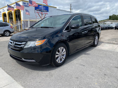 2014 Honda Odyssey for sale at INTERNATIONAL AUTO BROKERS INC in Hollywood FL