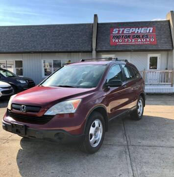 2009 Honda CR-V for sale at Stephen Motor Sales LLC in Caldwell OH