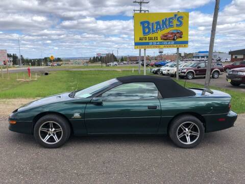 1997 Chevrolet Camaro for sale at Blake's Auto Sales in Rice Lake WI