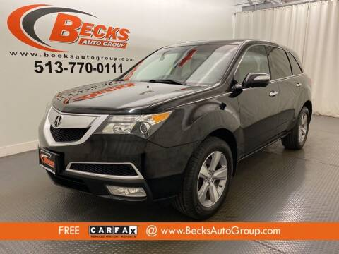 2012 Acura MDX for sale at Becks Auto Group in Mason OH