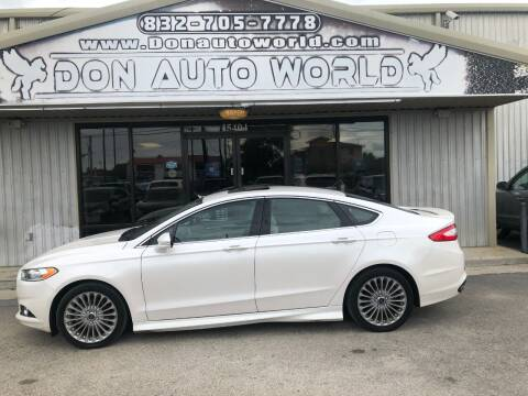 2015 Ford Fusion for sale at Don Auto World in Houston TX