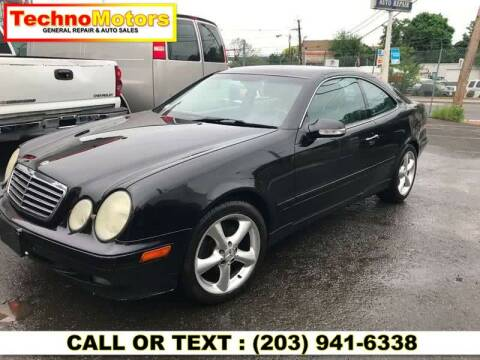 2002 Mercedes-Benz CLK for sale at Techno Motors in Danbury CT