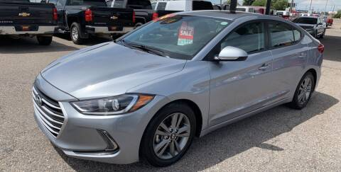 2017 Hyundai Elantra for sale at Top Line Auto Sales in Idaho Falls ID