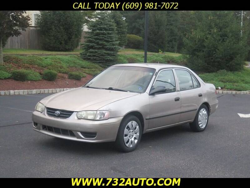 2002 Toyota Corolla for sale at Absolute Auto Solutions in Hamilton NJ