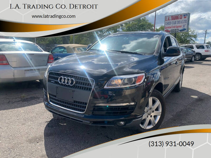 2007 Audi Q7 for sale at L.A. Trading Co. Detroit in Detroit MI