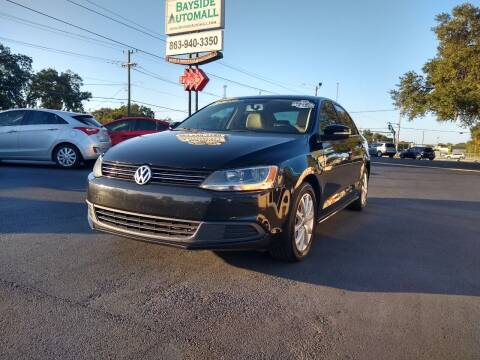 2013 Volkswagen Jetta for sale at BAYSIDE AUTOMALL in Lakeland FL