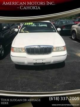2000 Mercury Grand Marquis for sale at American Motors Inc. - Cahokia in Cahokia IL