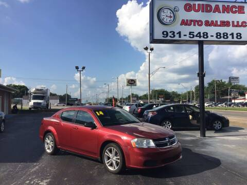 2014 Dodge Avenger for sale at Guidance Auto Sales LLC in Columbia TN