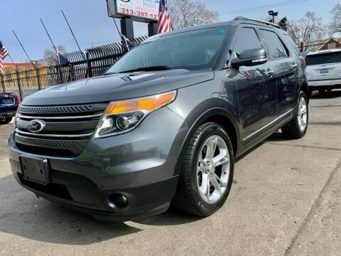 2015 Ford Explorer for sale at Gus's Used Auto Sales in Detroit MI