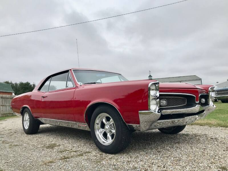 1967 Pontiac GTO for sale at 500 CLASSIC AUTO SALES in Knightstown IN