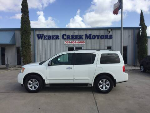 2012 Nissan Armada for sale at Weber Creek Motors in Corpus Christi TX