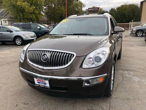 2012 Buick Enclave for sale at Bibian Brothers Auto Sales & Service in Joliet IL