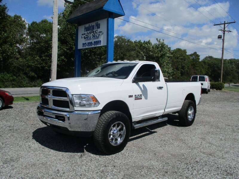2016 RAM Ram Pickup 3500 for sale at PENDLETON PIKE AUTO SALES in Ingalls IN