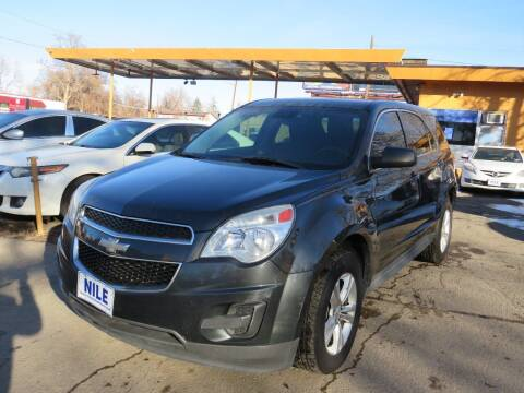 2014 Chevrolet Equinox for sale at Nile Auto Sales in Denver CO