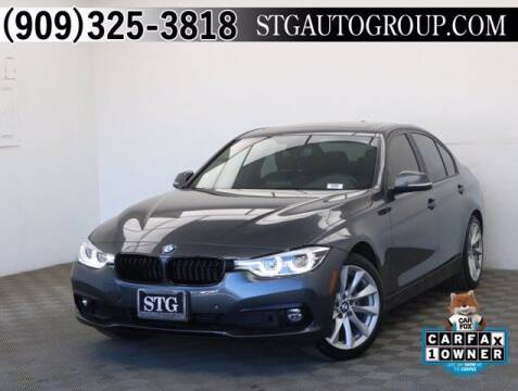 2018 BMW 3 Series for sale at STG Auto Group in Montclair CA