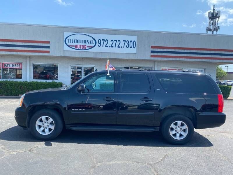 2014 GMC Yukon XL for sale at Traditional Autos in Dallas TX