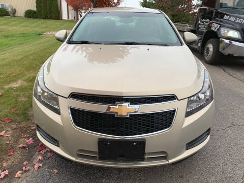 2012 Chevrolet Cruze for sale at Luxury Cars Xchange in Lockport IL