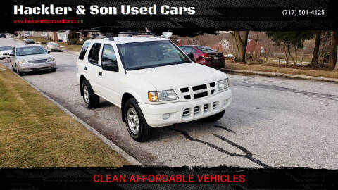2004 Isuzu Rodeo for sale at Hackler & Son Used Cars in Red Lion PA