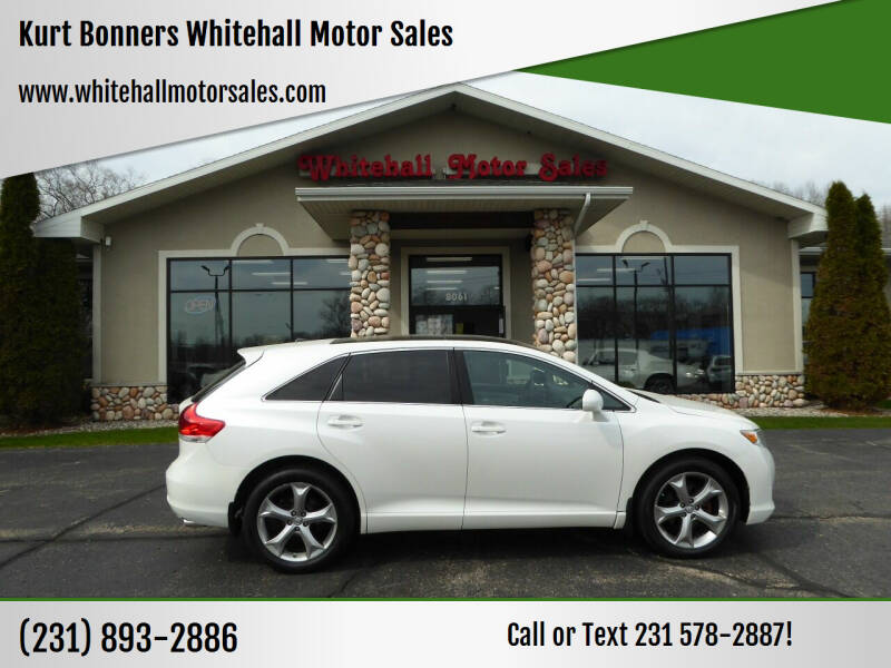 2012 Toyota Venza for sale at Kurt Bonners Whitehall Motor Sales in Whitehall MI