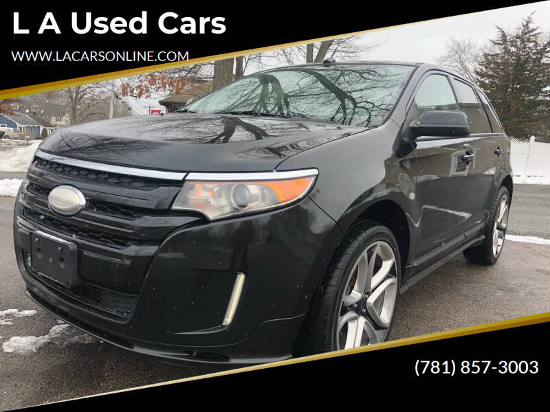 2013 Ford Edge for sale at L A Used Cars in Abington MA