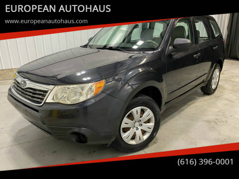 2010 Subaru Forester for sale at EUROPEAN AUTOHAUS in Holland MI