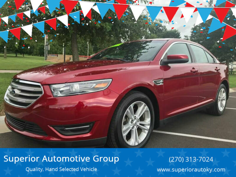 2015 Ford Taurus for sale at Superior Automotive Group in Owensboro KY