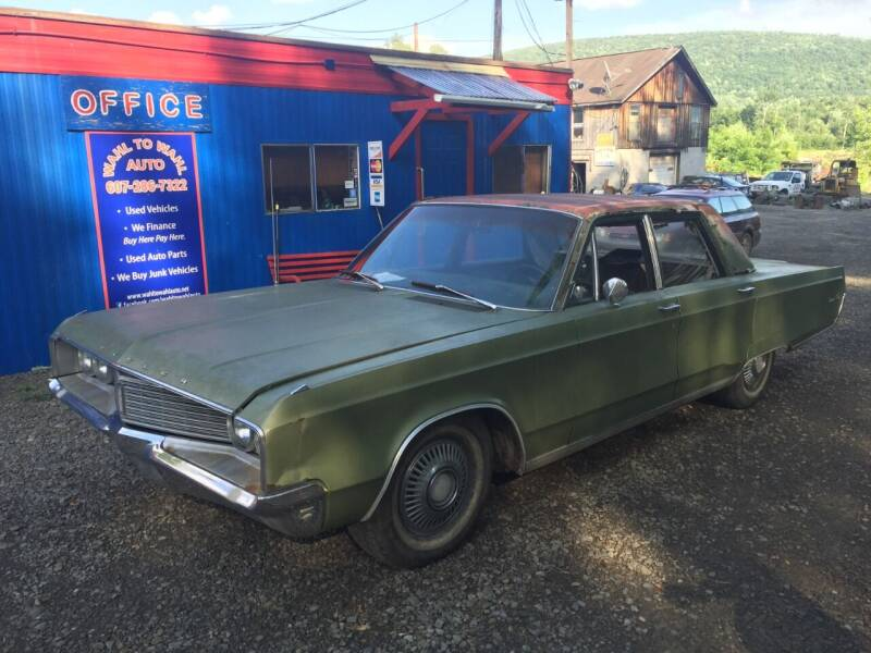 1968 Chrysler Newport for sale at Wahl to Wahl Auto in Cooperstown NY