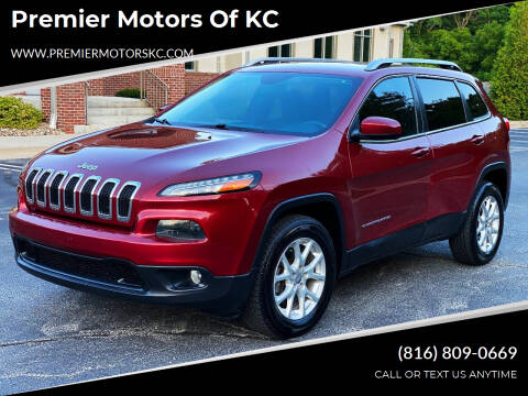 2014 Jeep Cherokee for sale at Premier Motors of KC in Kansas City MO