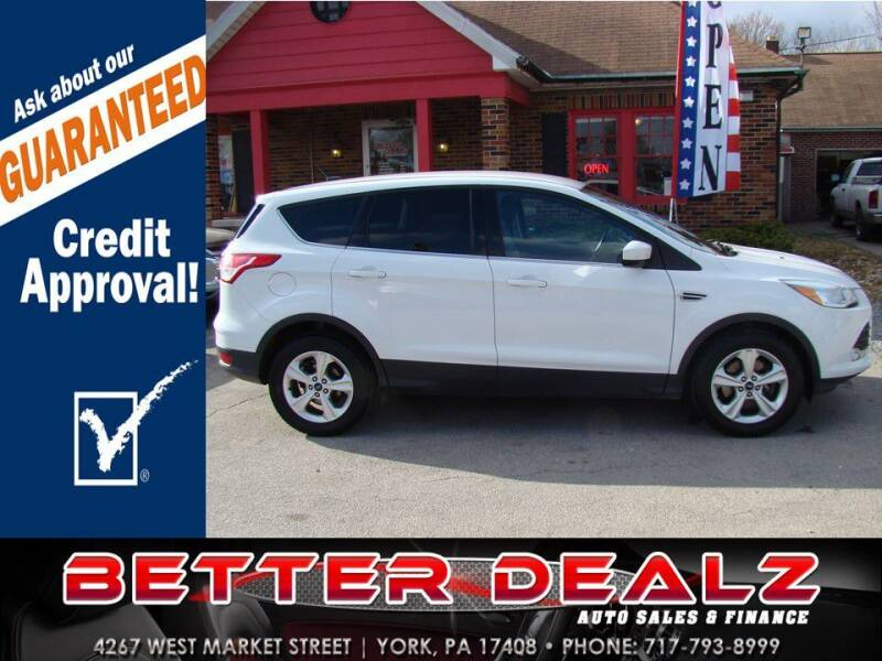 2016 Ford Escape for sale at Better Dealz Auto Sales & Finance in York PA