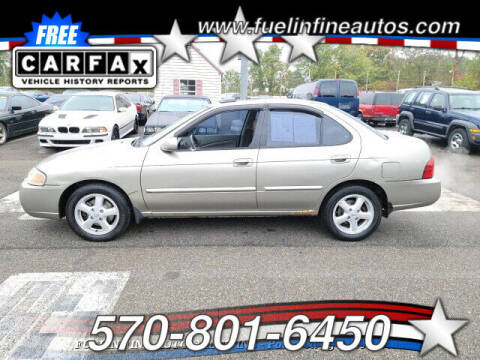 2004 Nissan Sentra for sale at FUELIN FINE AUTO SALES INC in Saylorsburg PA