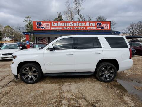 2015 Chevrolet Tahoe for sale at LA Auto Sales in Monroe LA