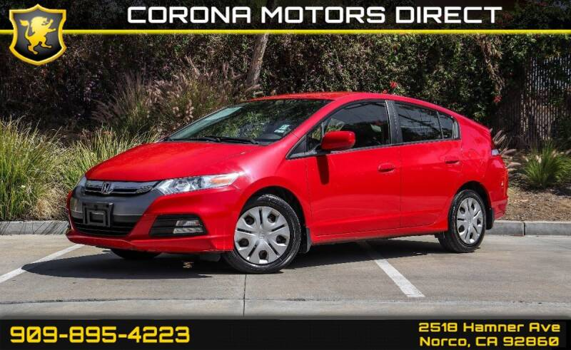 2013 Honda Insight for sale in Norco, CA