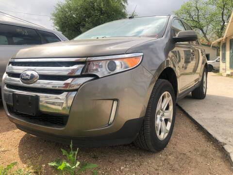 2013 Ford Edge for sale at S & J Auto Group in San Antonio TX