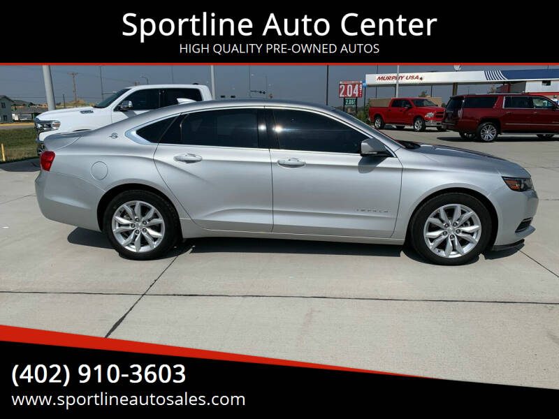 2017 Chevrolet Impala for sale at Sportline Auto Center in Columbus NE